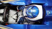 Gustav Malja testuje první den vůz Sauber C36 - Ferrari v Maďarsku