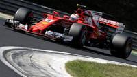 Sebastian Vettel při testech klíčových komponent pro 2. polovinu sezóny v Maďarsku