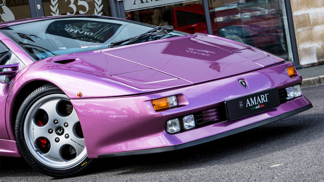Slavné Lamborghini Diablo z videoklipu Cosmic Girl