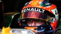 Robert Kubica testuje druhý den vůz Renault RS17 v Maďarsku