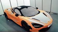 Jedinečná replika vozu McLaren 720S vyrobená z Lega
