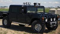 1996 American Motors Hummer H1, který si Tupac koupil pouhý měsíc před svou smrtí