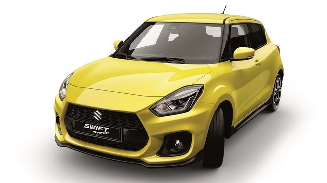 Nový Suzuki Swift Sport