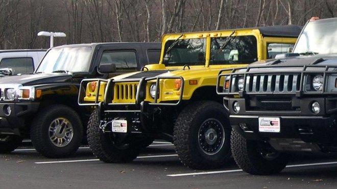 Hummer H3, H1, H2