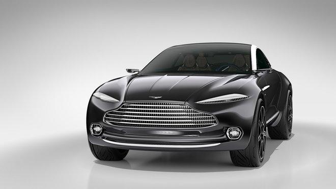 Připravované SUV Aston Martin DBX