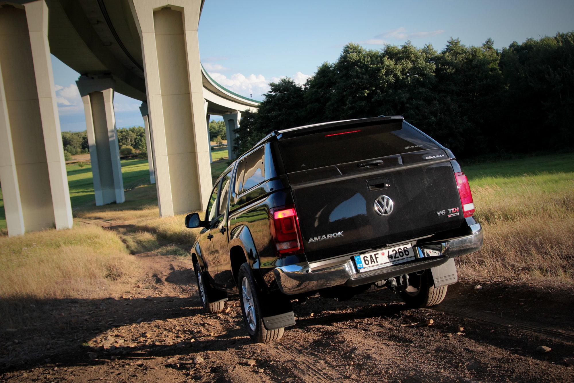 Volkswagen Amarok 3,0 TDI V6 4Motion