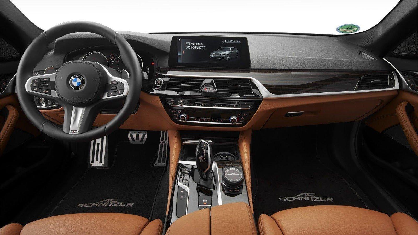 BMW řady 5 v úpravě AC Schnitzer