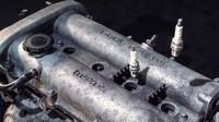 Stop-motion video z kompletní rozborky motoru Mazdy MX-5