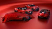Kompletní rodina vozů Aston Martin Vanquish Zagato