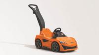 McLaren 570S Push Sports Car