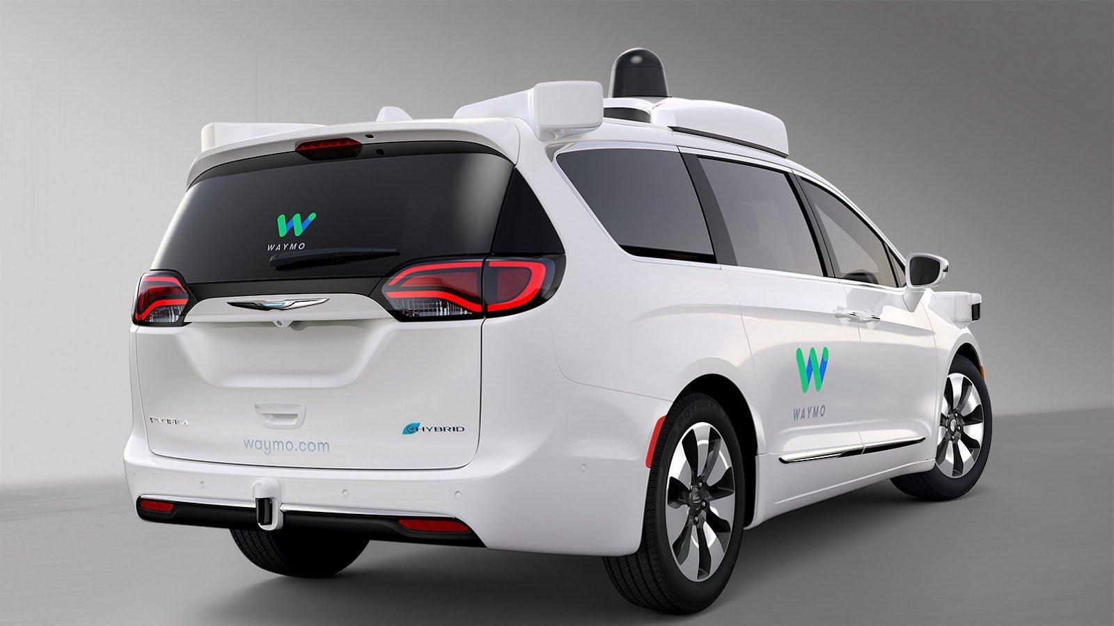 Autonomní vozidlo společnosti Waymo