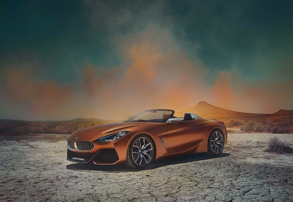 Jedna z nejočekávanějších mnichovských novinek tohoto roku, koncept BMW Z4