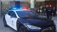 Ilustrační foto (Tesla Model S ve službách LAPD)