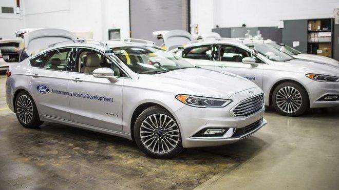 Ford, Autonomous Vehicle Development