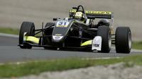 Lando Norris s vozem Formule 3 v Zandvoortu