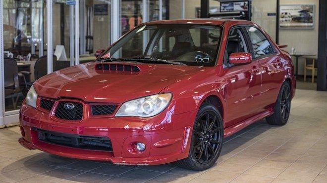 Subaru Impreza WRX z filmu Baby Driver