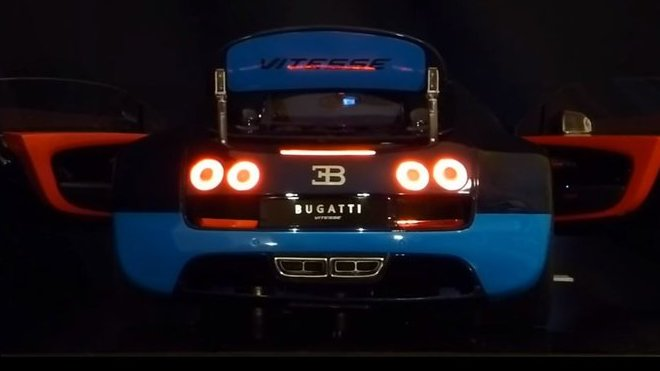Model Bugatti Veyron doplněný o funkční osvětlení vyjde na neskutečných 15,000 dolarů
