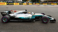 Lewis Hamilton v Belgii překonal traťový rekord