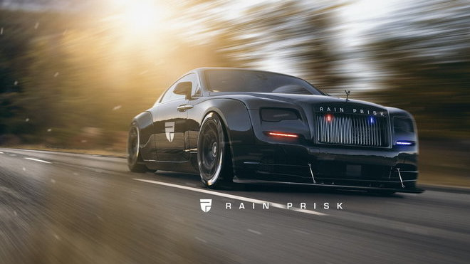 Extrémní verze policejního Rolls-Royce Wraith