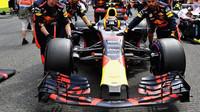 Max Verstappen před závoděm v Belgii