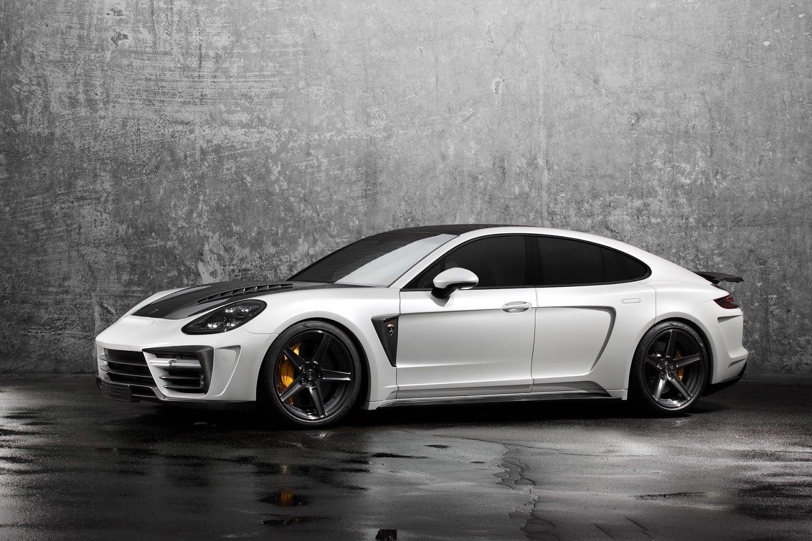Porsche Panamera v úpravě Stingray GTR Edition od ruského úpravce TOPCAR Design