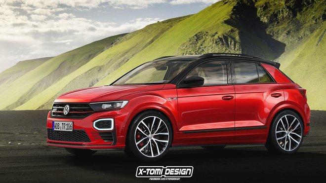Ilustrační fotografie - Volkswagen T-Roc GTI v podání X-Tomi Design