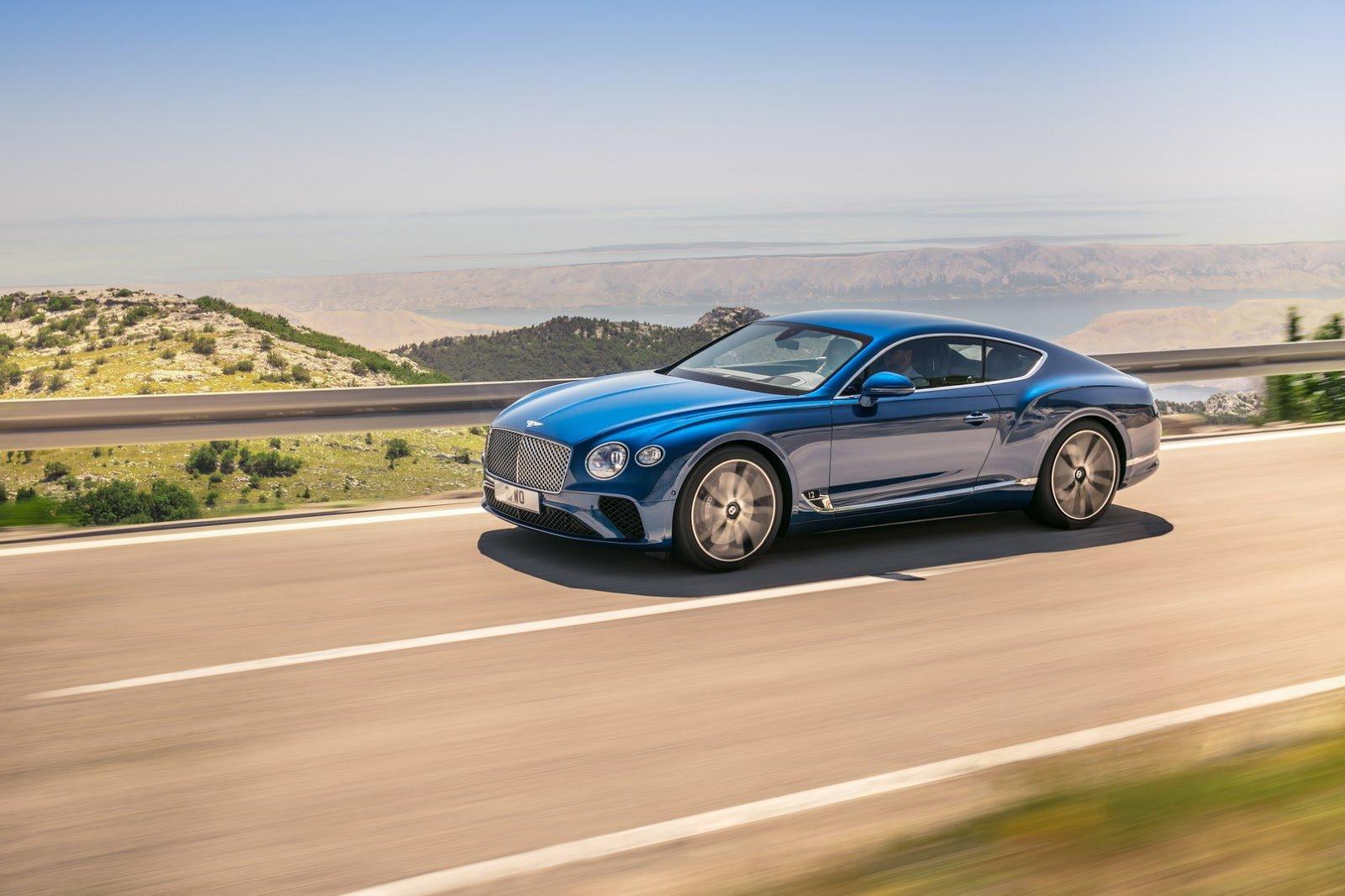 Nový Bentley Continental GT