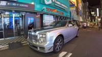 Rolls-Royce Phantom s motorem 2JZ z Toyoty Supra