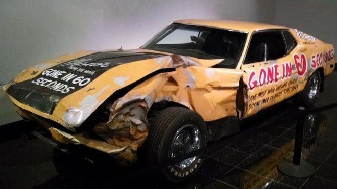 """Originální Ford Mustang SportsRoof použitý během natáčení původní verze filmu """"Gone in 60 Seconds"""""""