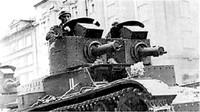 Polský tank 7TP ve verzi se dvěma kulomety