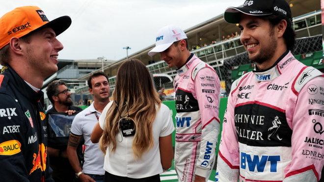 Esteban Ocon, Max Verstappen a Sergio Pérez si užili motokáry v Itálii