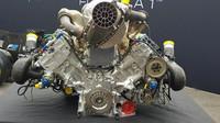 3,6litrový turbomotor používaný ve Formuli 2