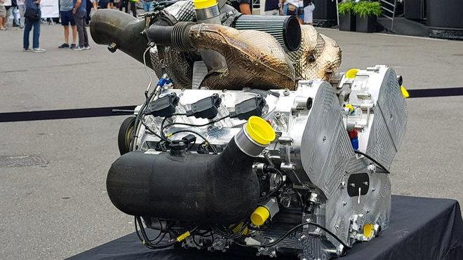 Motor pro příští ročník Formule 2