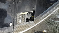 Hlavní konektor McLarenu, tzv. pupek
