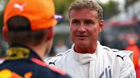 David Coulthard a Max Verstappen v Itálii