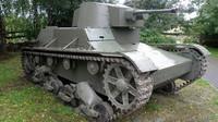 Rekonstruovaný polský tank 7TP z roku 2011 (foto:Hiuppo)