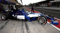 Marcus Ericsson se Sauberem C36