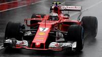 Kimi Räikkönen za deštivé kvalifikace v Itálii