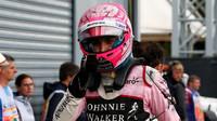 Esteban Ocon dojel třetí za deštivé kvalifikace v Itálii