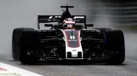 Romain Grosjean za deštivé kvalifikace v Itálii
