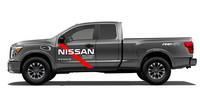 Nissan Titan určený pro pomoc obětem hurikánu Harvey