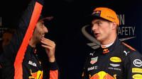 Max Verstappen a Daniel Ricciardo podeštivé kvalifikaci v Itálii