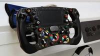 Volant vozu Sauber C36 - Ferrari v kvalifikaci v Itálii
