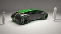 Koncept autonomního vozidla Zoox