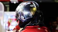 Sebastian Vettel před závodem v Itálii