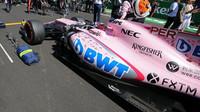 Force India na startovním roštu
