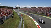 Felipe Massa v závodě v Itálii