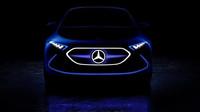 Ukázka elektrického konceptu Mercedes-Benz EQ A, který se představí ve Frankfurtu