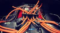 Ferrari 308 přestavěné na elektromobil z dílny Electric GT