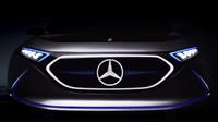 Ilustrační foto (Mercedes-Benz koncept EQ A)